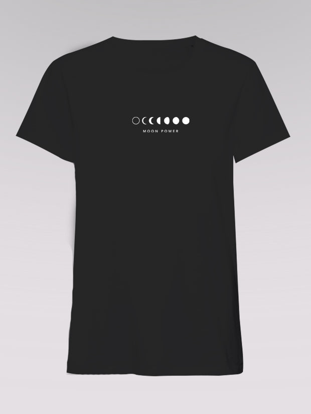 Men T-Shirt - Moonpower (black)