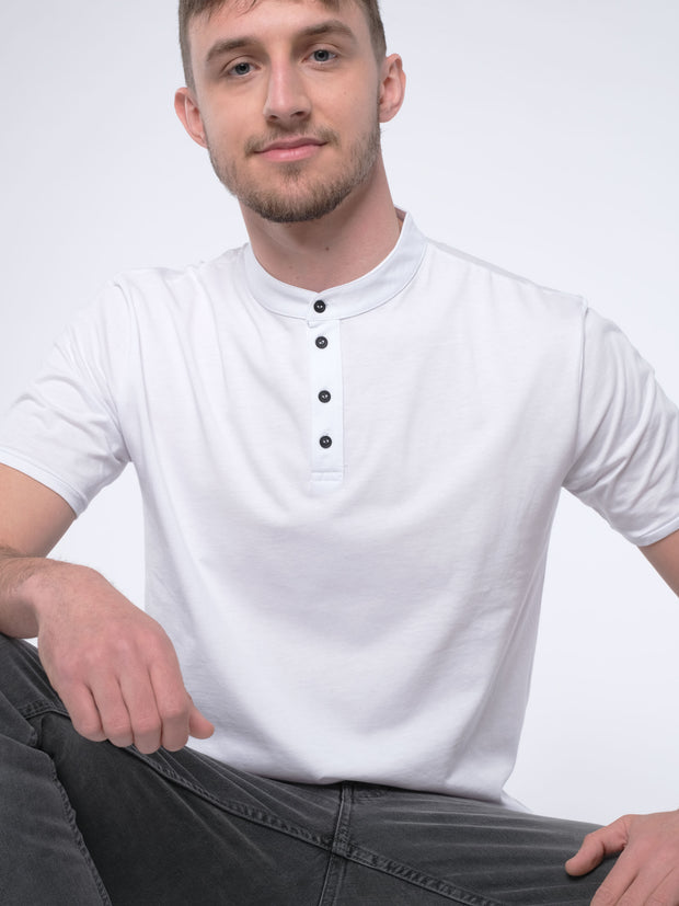 Men Poloshirt ERDBÄR (white)