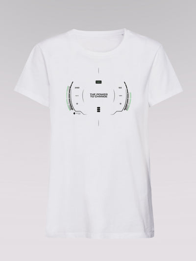 Men T-Shirt - Power To Change (white)