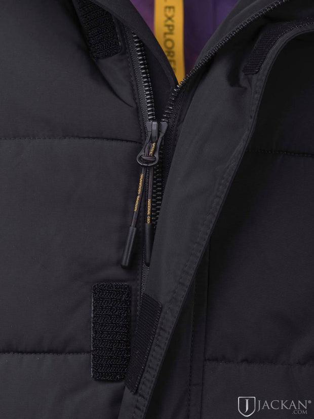 National Geographic Men - Re-Developed Coat (black) - €319.92 -20%