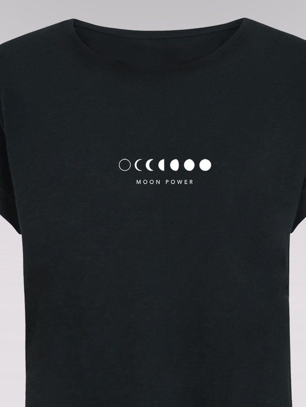 Women T-Shirt - Moonpower (black)