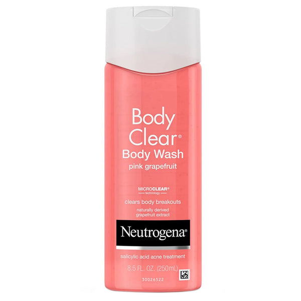 Neutrogena Body Clear, Body Wash, Pink Grapefruit, 8.5 fl oz (250 ml)