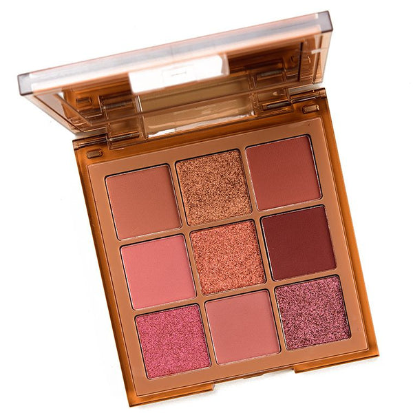 HUDA BEAUTY Mini NUDE Obsession eyeshadow palette 10g-MEDIUM