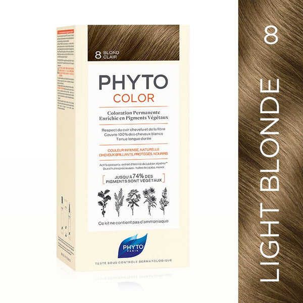 Phyto PhytoColor Permanent Color (8 Light Blonde)