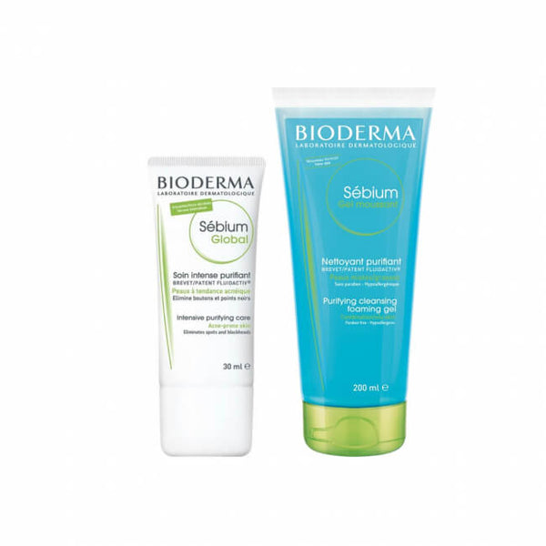 Bioderma Sébium Global 30ml + Bioderma Sébium Gel Moussant 200ml