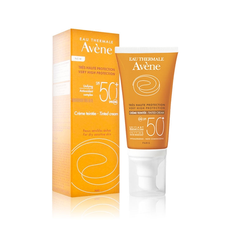 Avène Sun Very High Protection Cream Fragrance-Free SPF50+ 50ml