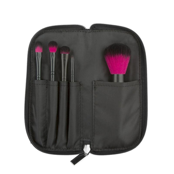 COASTAL SCENTS COLOR ME FUCHSIA BRUSH SET