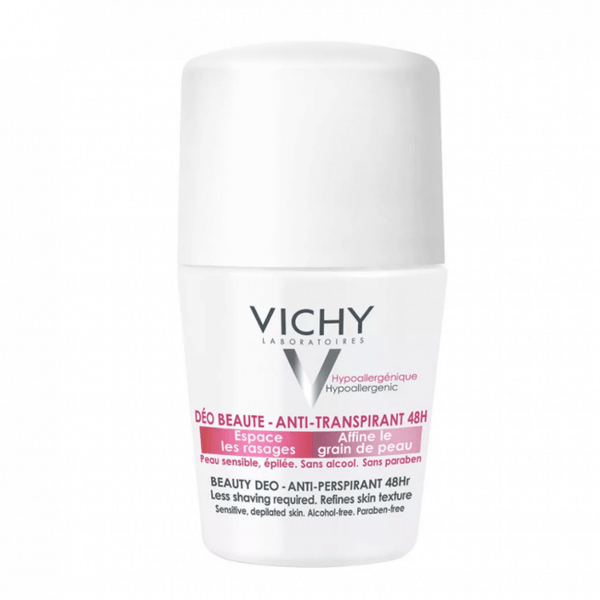 Vichy Deodorant Ideal Finish Beautifying Anti-perspirant 48h 50ml