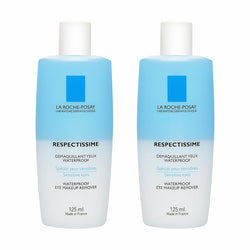 لاروش بوزيه RESPECTISSIME WATERPROOF EYE MAKEUP REMOVER 2 X 125ML