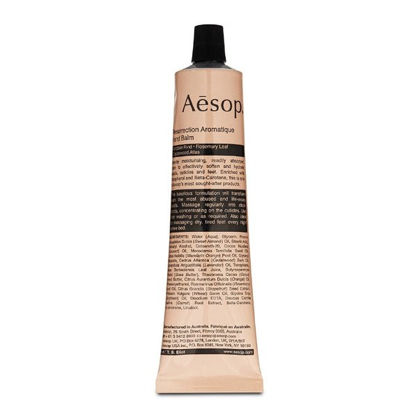 AESOP Resurrection Aromatique hand balm 75ml