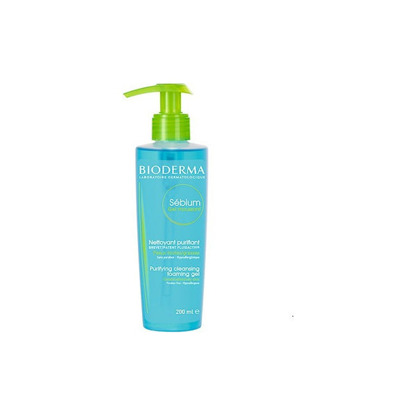 Bioderma Sébium Gel Moussant Purifying Foaming Gel 200ml