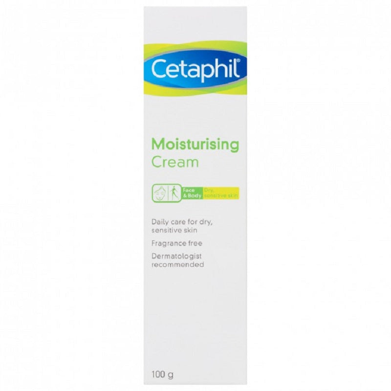 CETAPHIL MOISTURIZING CREAM 100GM