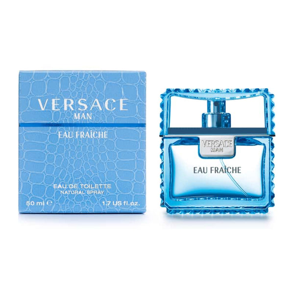 Versace Eau Fraiche by Versace for Men - Eau de Toilette, 50ml