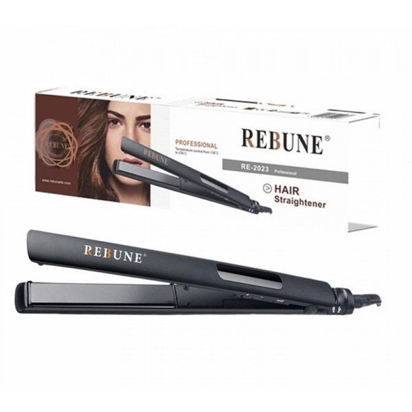REBUNE Hair Straightener RE-2023 Black