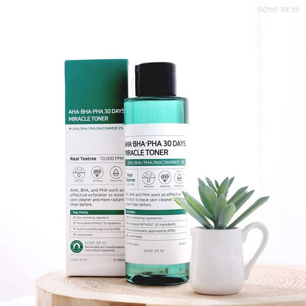 Some By Mi, AHA. BHA. PHA 30 Days Miracle Toner, 150 ml