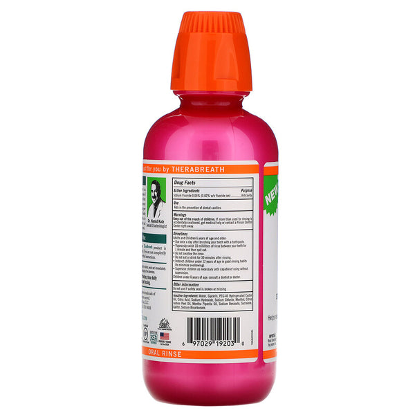 TheraBreath, Healthy Smile, Oral Rinse, Sparkle Mint, 16 fl oz (473 ml)