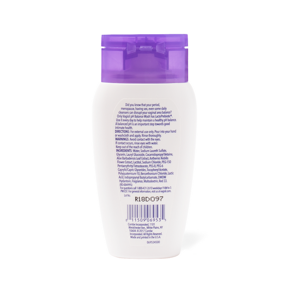 Vagisil PH BALANCE DAILY INTIMATE WASH - TRAVEL SIZE 100g