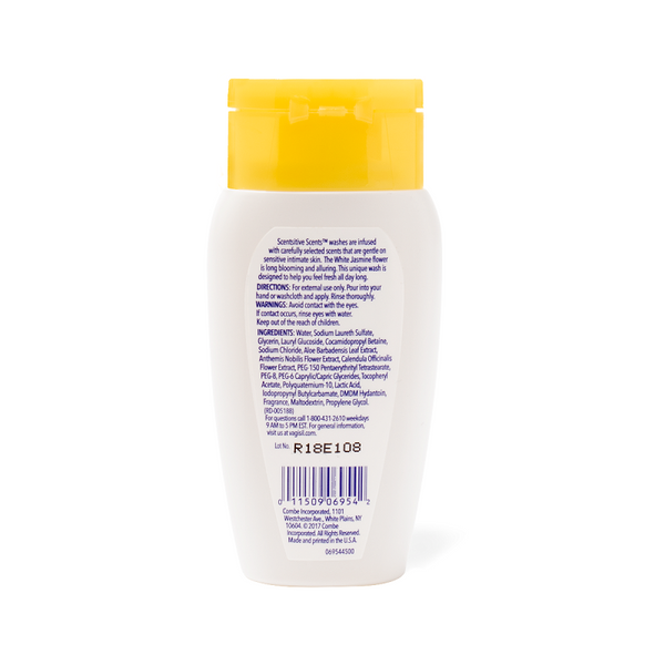 Vagisil SCENTSITIVE SCENTS® WHITE JASMINE DAILY INTIMATE WASH - TRAVEL SIZE 100 ml