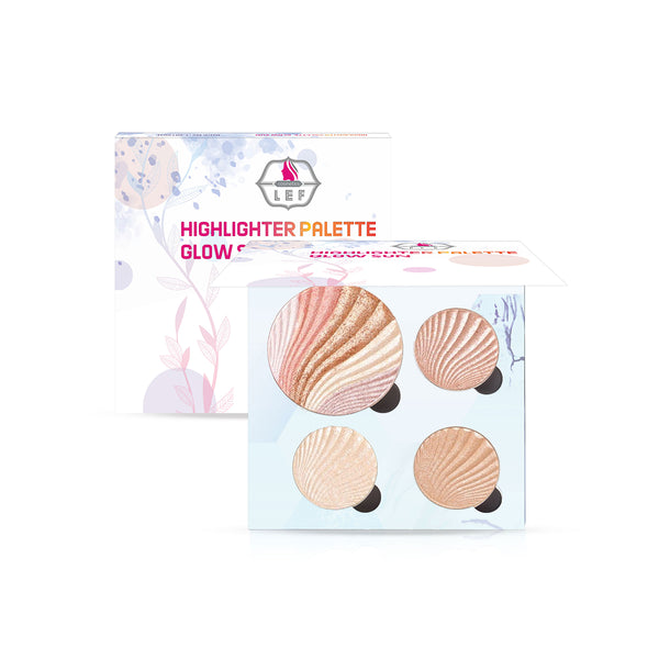 Lef Highlighter Palette Glow Sun