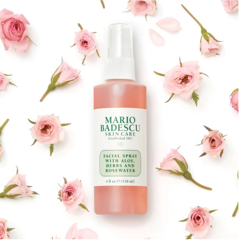 Mario Badescu Facial Spray Withaloe, Herbs And Rose Water - 118ml
