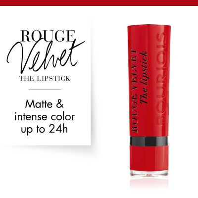 Bourjois Rouge Velvet The Lipstick - 08 Rubi's cute