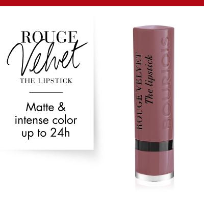 Bourjois  Rouge Velvet The Lipstick - 17 From Paris with Mauve