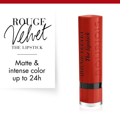 Bourjois Rouge Velvet The Lipstick - 21 Grande Roux