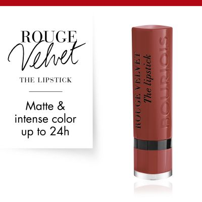 Bourjois Rouge Velvet The Lipstick - 24 Pari'sienne