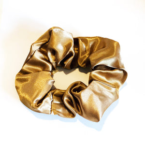 Satin Scrunchie - Mocha
