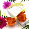 ColourPop Alice Band & Hair Bobble set - Orange & Yellow