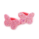 Butterfly Hair Ponio - Light Pink