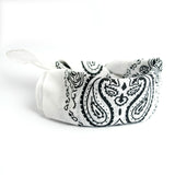 Bandana Headwrap - White