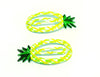 This brightly coloured Pineapple Snap Clips will look adorable in your hair. Hello summer!  Dimensions: Length 5cm Material: Metal Securely holds all hair types.