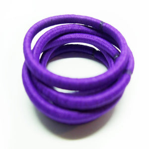 Purple Hair Bobbles - 6 pack