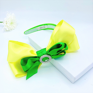 Yellow and Green ColourPop Alice band
