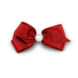 Tanita Hair Bow Clip - Red