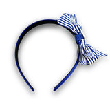 Imara Stripes Alice band - Navy