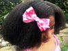 Sophia Polka Dot Hair Clip - Red
