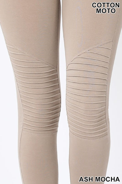 Cotton Moto Leggings