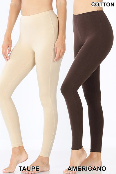 Cotton Basic Leggings