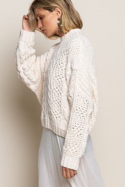 Zoey Cableknit Sweater