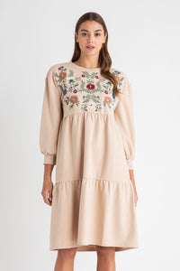 Milo Dress- Taupe