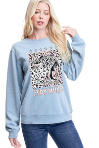 Stay Wild Graphic Sweatshirt