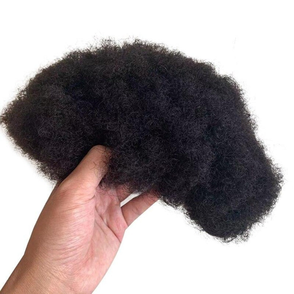 Indian Afro Kinky Remy Human Hair Unit