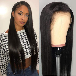 Peruvian Straight Human Hair Wig