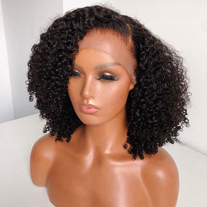 Brazilian Remy Curly Human Hair Wig