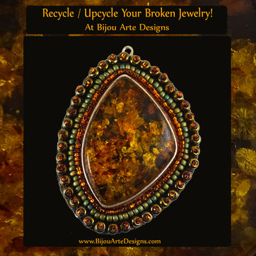 Recycle / Upcycle Your Broken Jewelry!