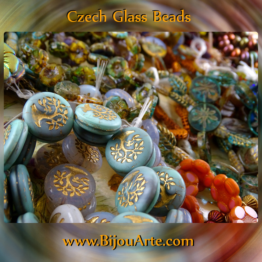 New To The The Website: Czech Glass Beads!
