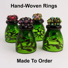 Bespoke, Hand-Woven Rings - Made To Order!