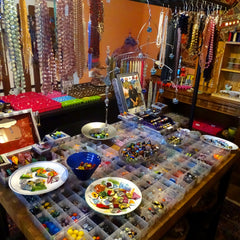 Artisan Jewelry / Unique Beading Supplies / Workshops In Tuscany